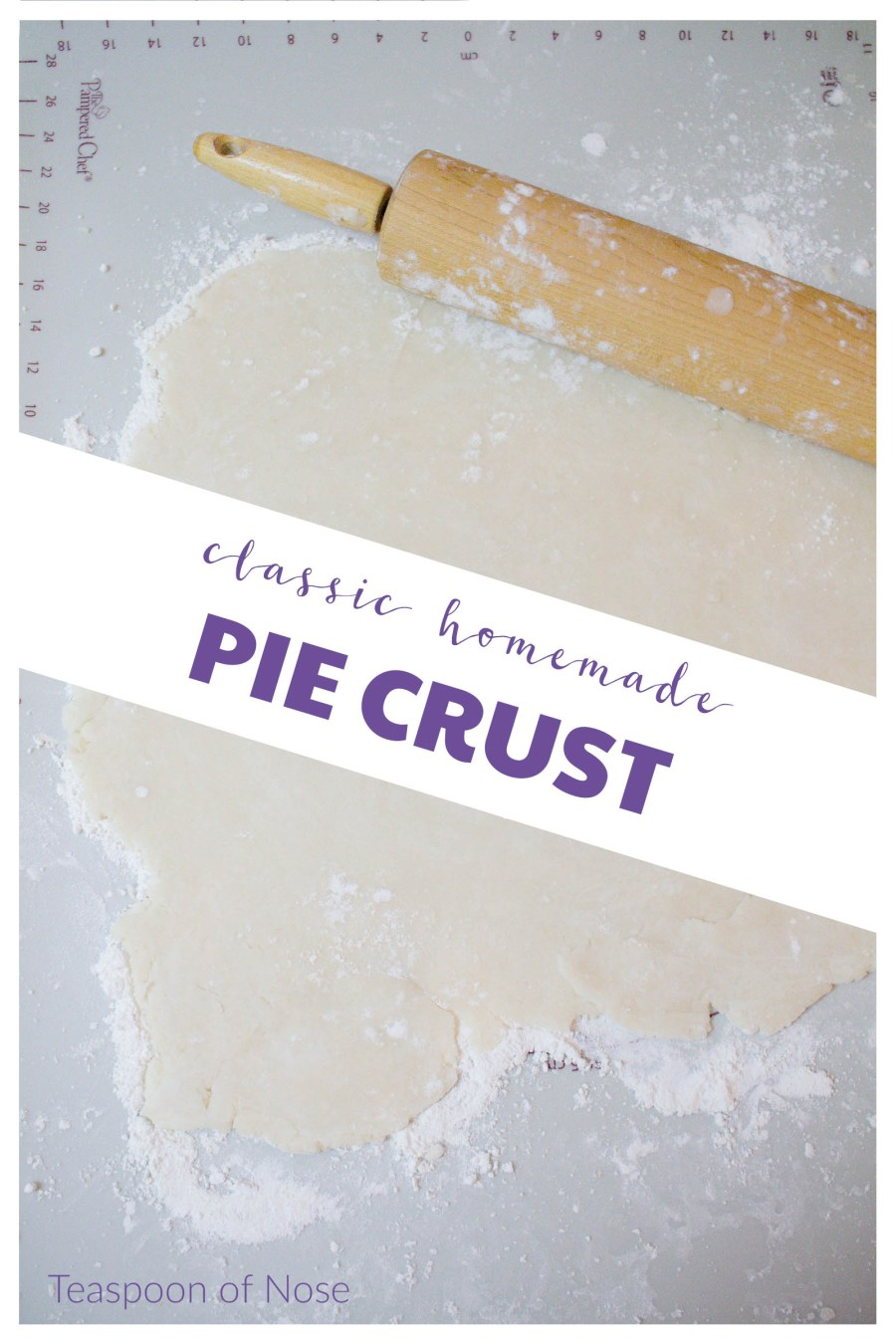 Using a homemade pie crust is one of those small things that makes every pie so much better! | Teaspoon of Nose