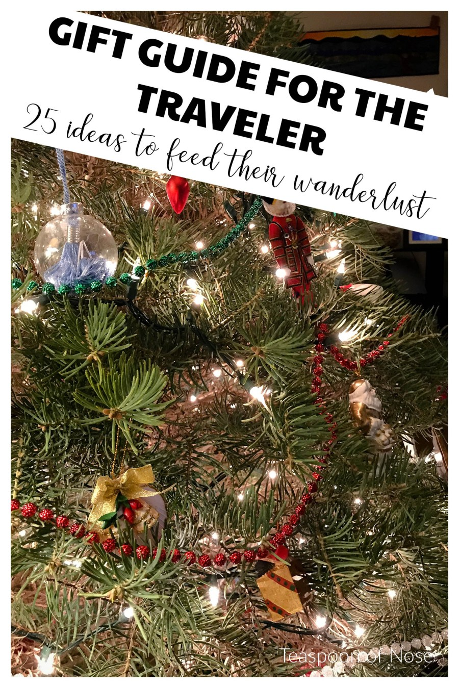 gift guide for the traveler! Here are 25 fantastic gift ideas to feed their wanderlust this Christmas.