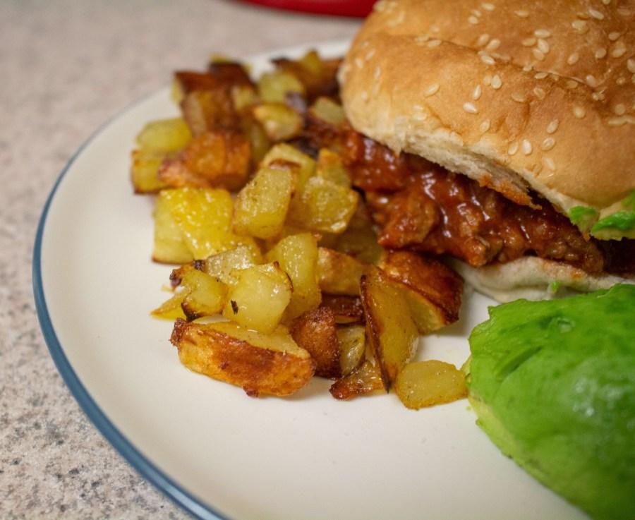 Potato roasties are little bites of potato heaven: crispy on the outside and light on the inside.