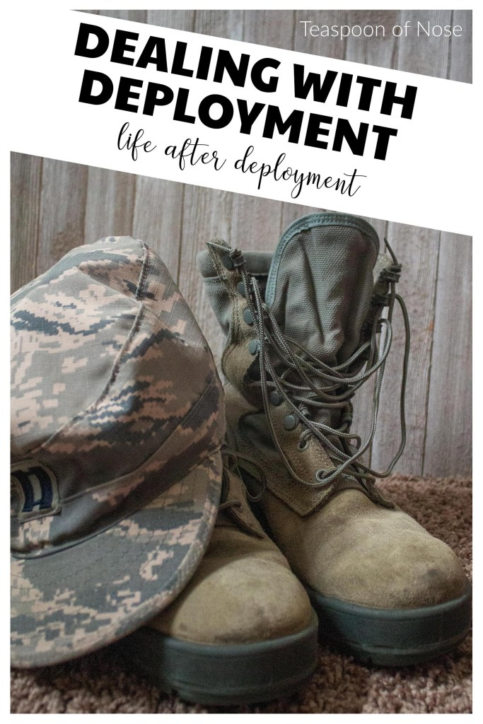 It's finally time to answer the big question: how is life after deployment? Here are some reflections on how reentry has gone for us and for me as a spouse.