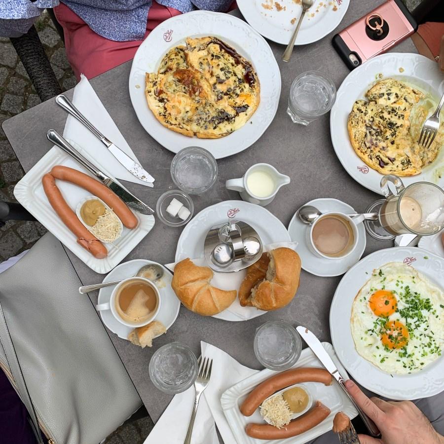 day in Vienna breakfast