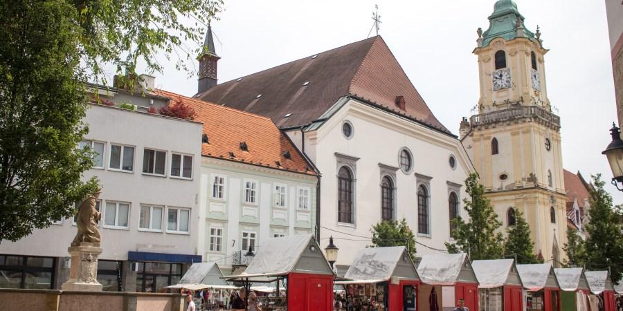 Bratislava market
