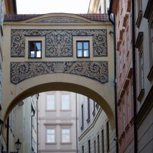 Prague across the river
