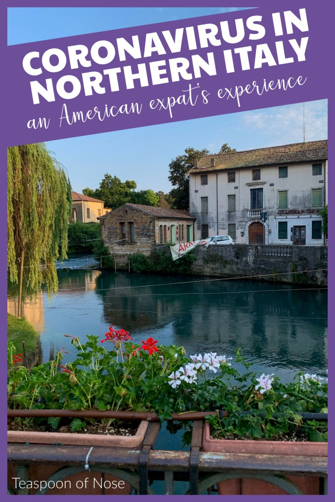 Today I'm sharing my experience living as an expat in northern Italy during the coronavirus pandemic. It's a serious topic, but I felt it was worth sharing.