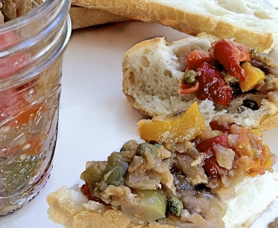 Eggplant Caponata or Sicilian Relish for The Recipe ReDux