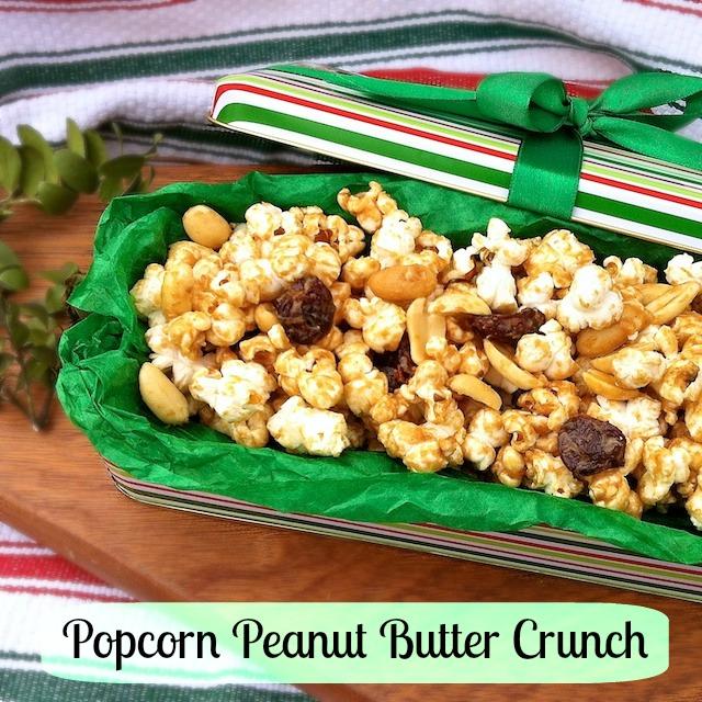 Popcorn Peanut Butter Crunch | TeaspoonofSpice.com
