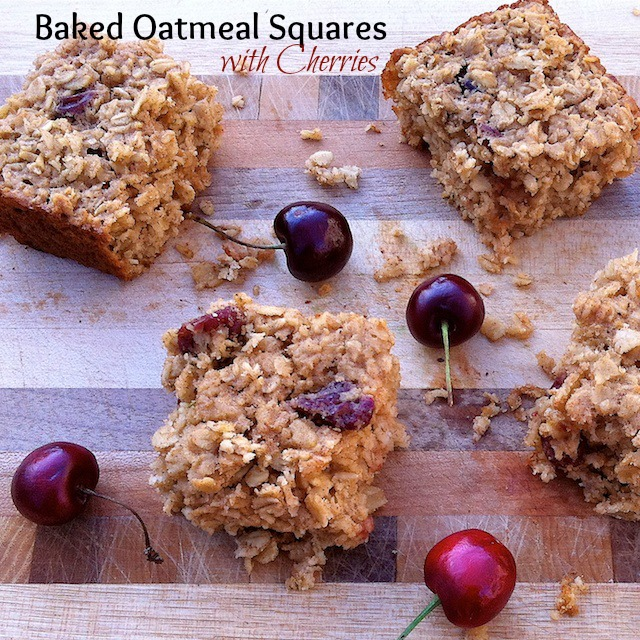 Baked Oatmeal Squares   Teaspoonofspice.com