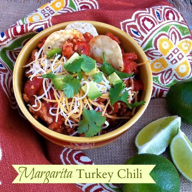 Margarita Turkey Chili | Teaspoonofspice.com