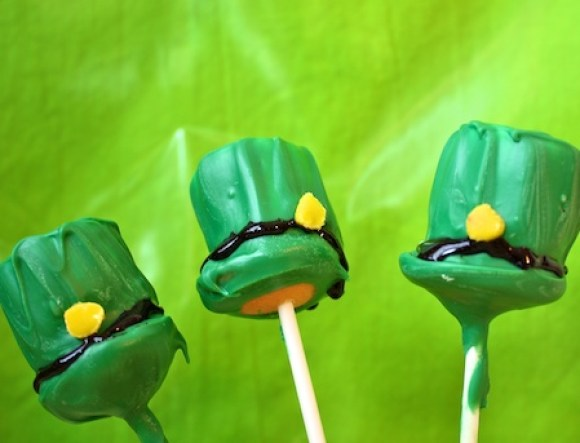 Saint Patricks Day Cake Pops
