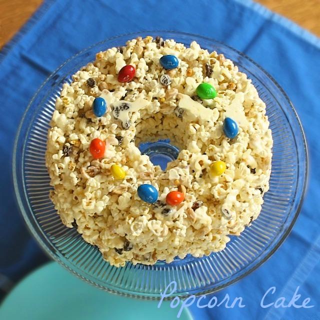 Popcorn Cake | TeaspoonofSpice.com