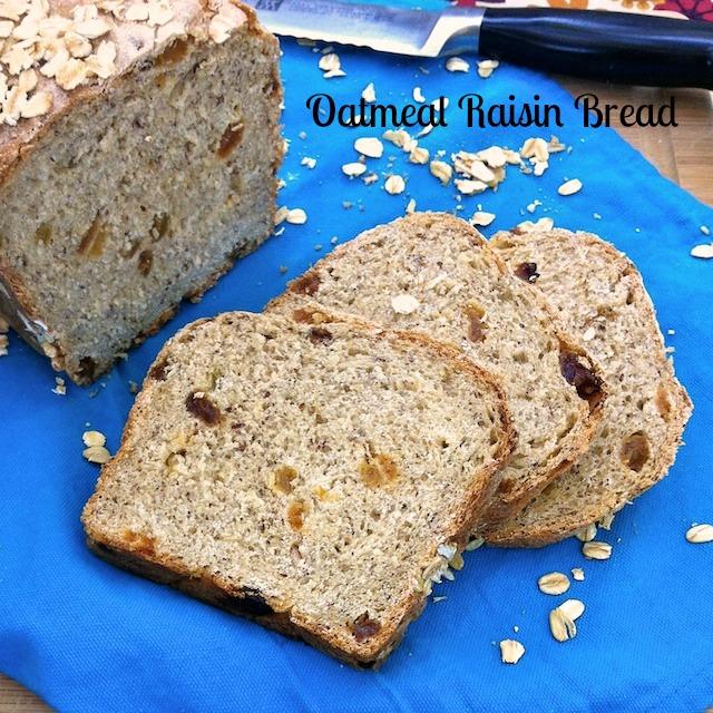Homemade Oatmeal Raisin Bread | TeaspoonofSpice.com