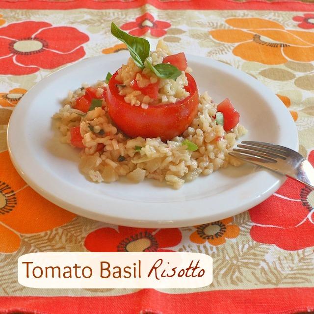 Tomato Basil Risotto | TeaspoonofSpice.com
