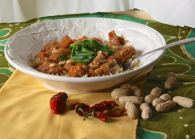 African Peanut Stew with Quinoa | Teaspoonofspice.com