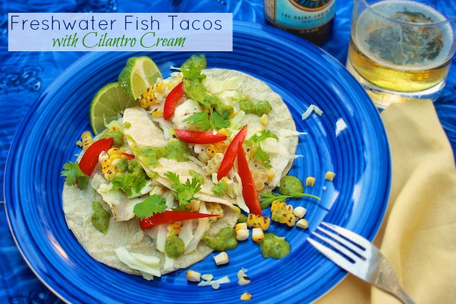 Freshwater Fish Tacos | Teaspoonofspice.com