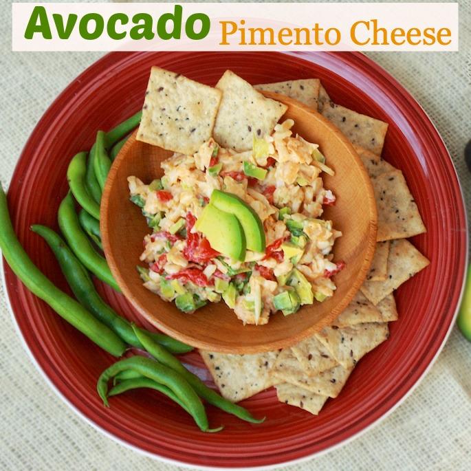 Avocado Pimento Cheese | Teaspoonofspice.com
