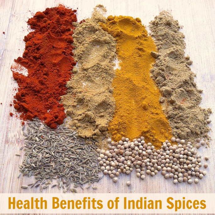 Health Benefits of Indian Spices | Teaspoonofspice.com