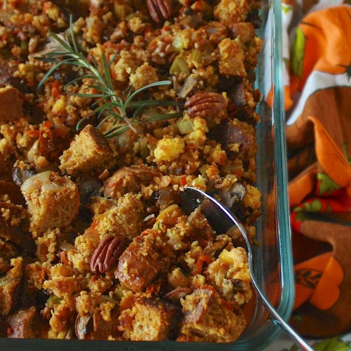 How to Make Vegetarian Stuffing | Teaspoonofspice.com