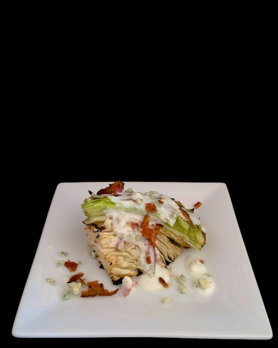 Roasted Cabbage Wedge Salad | Teaspoonofspice.com