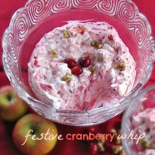 Festive Cranberry Whip | Teaspoonofspice.com