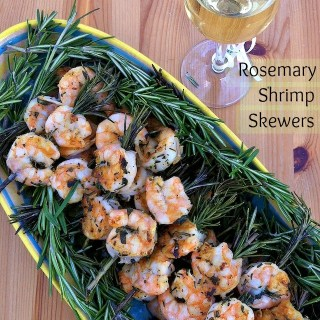 Rosemary Shrimp Skewers – Champagne pairings to ring in 2012