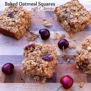Baked Oatmeal Squares | Teaspoonofspice.com