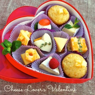 Cheese Lovers Valentine | Teaspoonofspice.com
