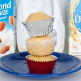 Almond milk, rice milk or dairy milk: WHICH BAKES THE BEST MUFFIN | @TspCurry - For more healthy recipes: TeaspoonOfSpice.com