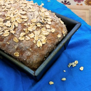 Homemade Oatmeal Raisin Bread | TeaspoonofSpice.com