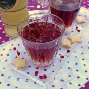 Pomegranate Gingertini