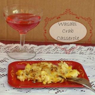 Wasabi Crab Casserole