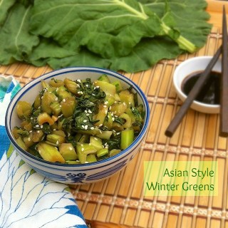 Asian Style Winter Greens