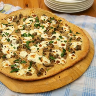 White Clam Pizza Pie