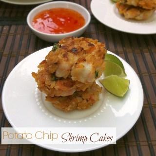 Potato Chip Shrimp Cakes