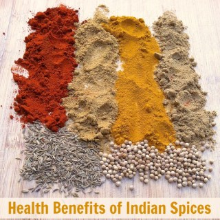 Health Benefits of Indian Spices: Cayenne, Coriander, Cumin and Turmeric