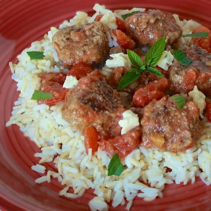 Moroccan Slow Cooker Meatballs   Teaspoonofspice.com