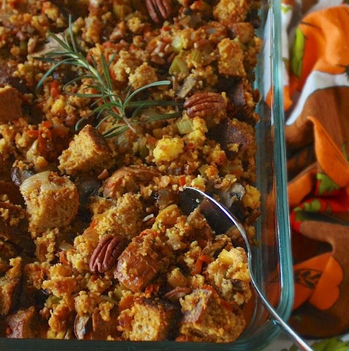 How to Make Vegetarian Stuffing   Teaspoonofspice.com