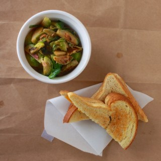 Bacon Braised Brussel Sprouts   Teaspoonofspice.com
