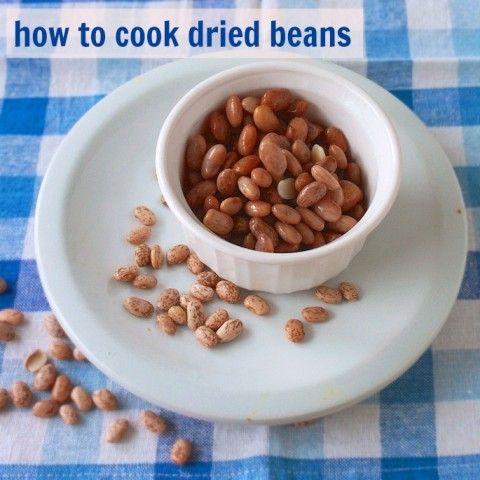 #HealthyKitchenHacks: How to Cook Dried Beans | Teaspoonofspice.com