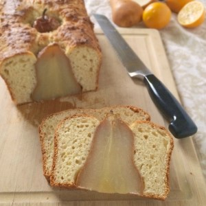 Pear and Meyer Lemon Bread