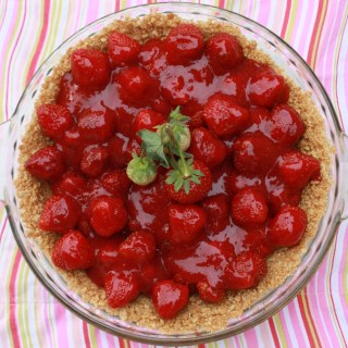 Fresh Strawberry Pie | @tspcurry