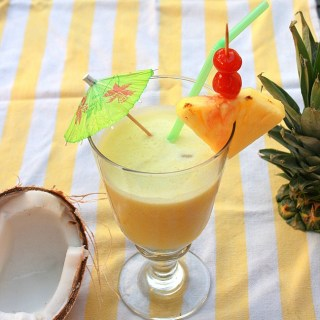 Fresh Coconut Pina Coladas | The Recipe ReDux