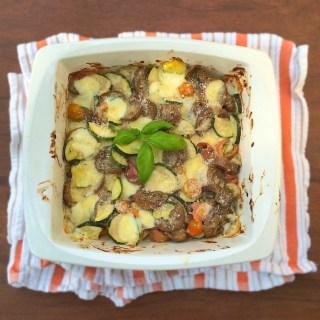 Tomato, Zucchini and Eggplant Gratin