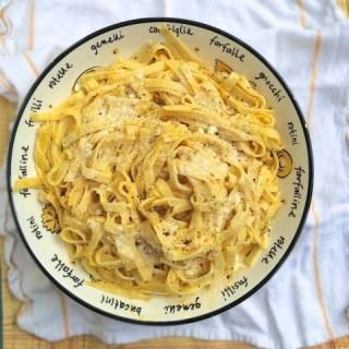 How to make healthier Fettuccine Alfredo