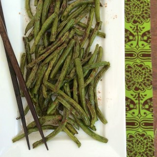 Chinese five spice powder spices up your typical green beans.