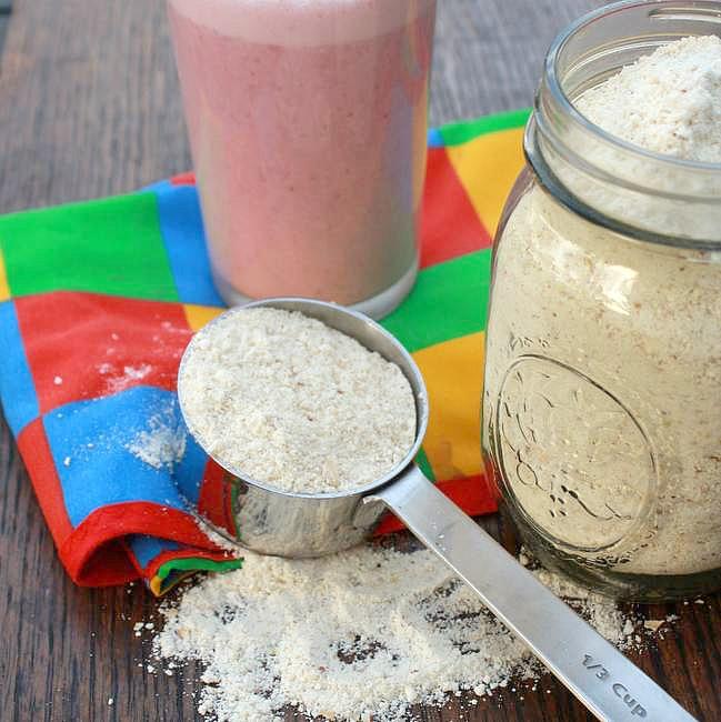 homemade instant milk protein powder