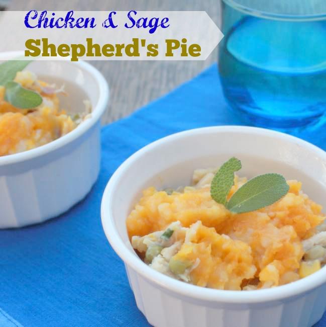 Chicken Sage Shepherd's Pie   TeaspoonOfSpice.com