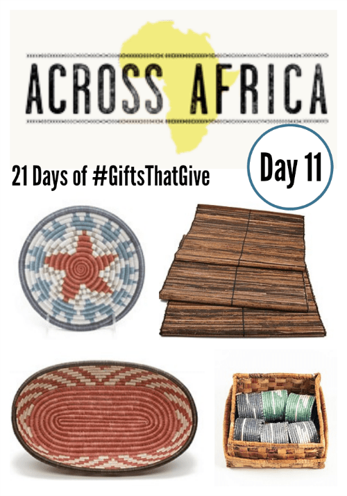 Day 11 #GiftsThatGive: AllAcrossAfrica.org