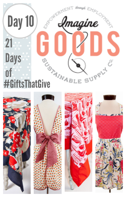 Day 10 of #GiftsThatGive: ImagineGoods.com