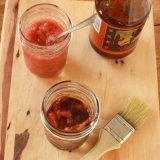 How To Make Rhubarb Sauce + 4 ways to use it