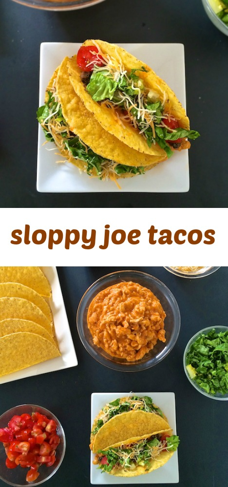 The best of both worlds - sloppy joes and nachos - meet in this healthy dinner that's soon to be a family favorite. via teaspoonofspice.com @tspbasil